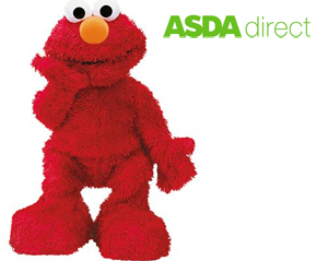 Elmo Live Asda Direct